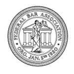 federal bar association logo